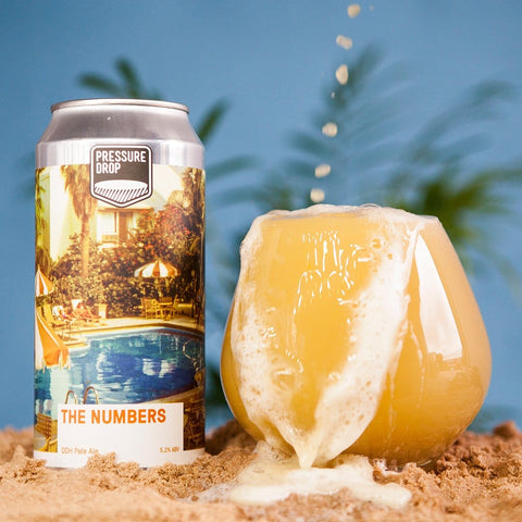 The Numbers 5.2% Bru-1 & Amarillo DDH Pale Ale