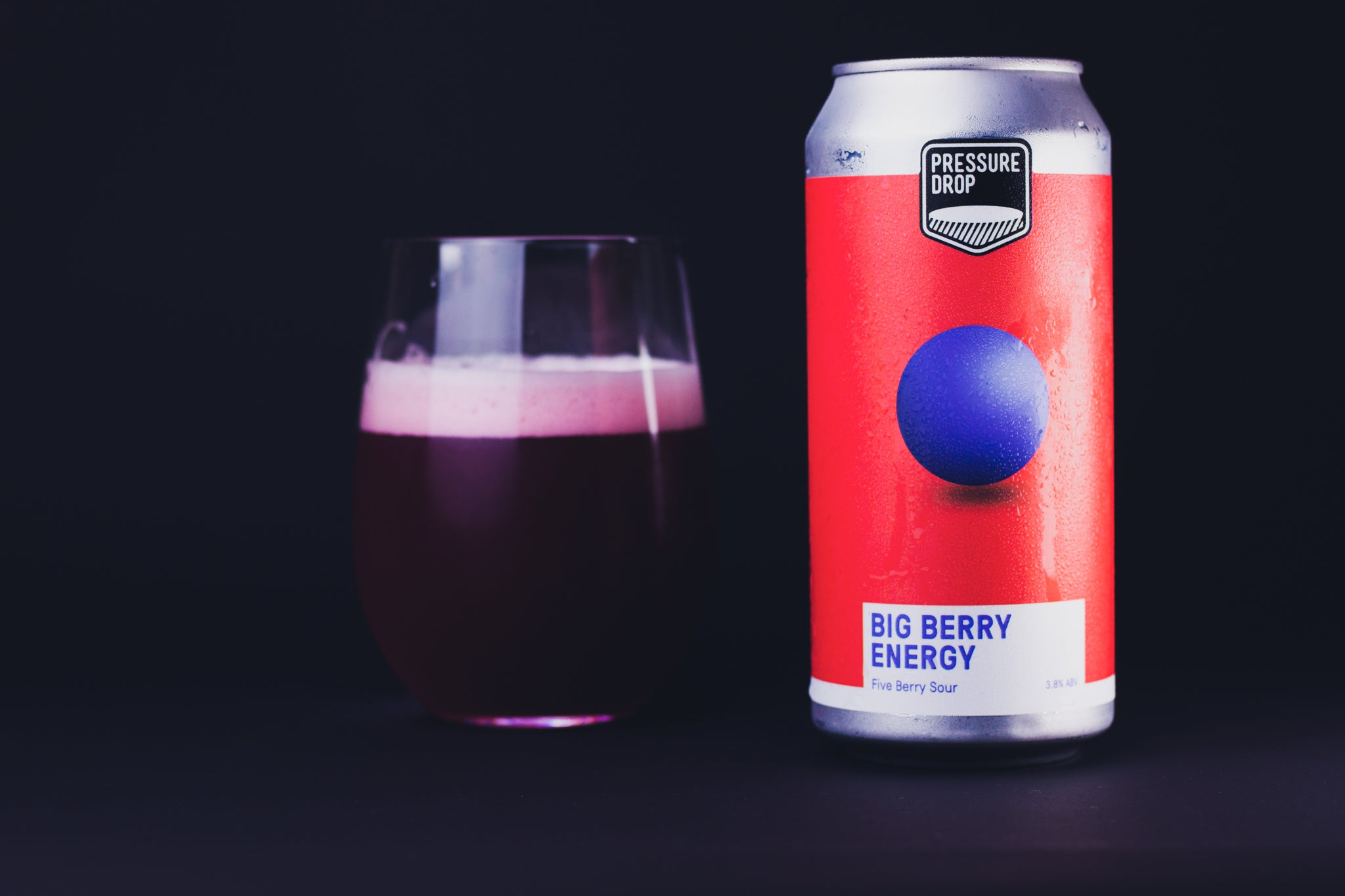 Big Berry Energy 3.8% Five Berry Sour