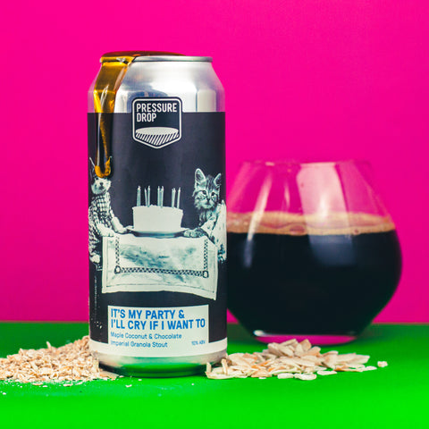 It's My Party & I'll Cry If I Want To 10% Maple Coconut & Chocolate Imperial Granola Stout