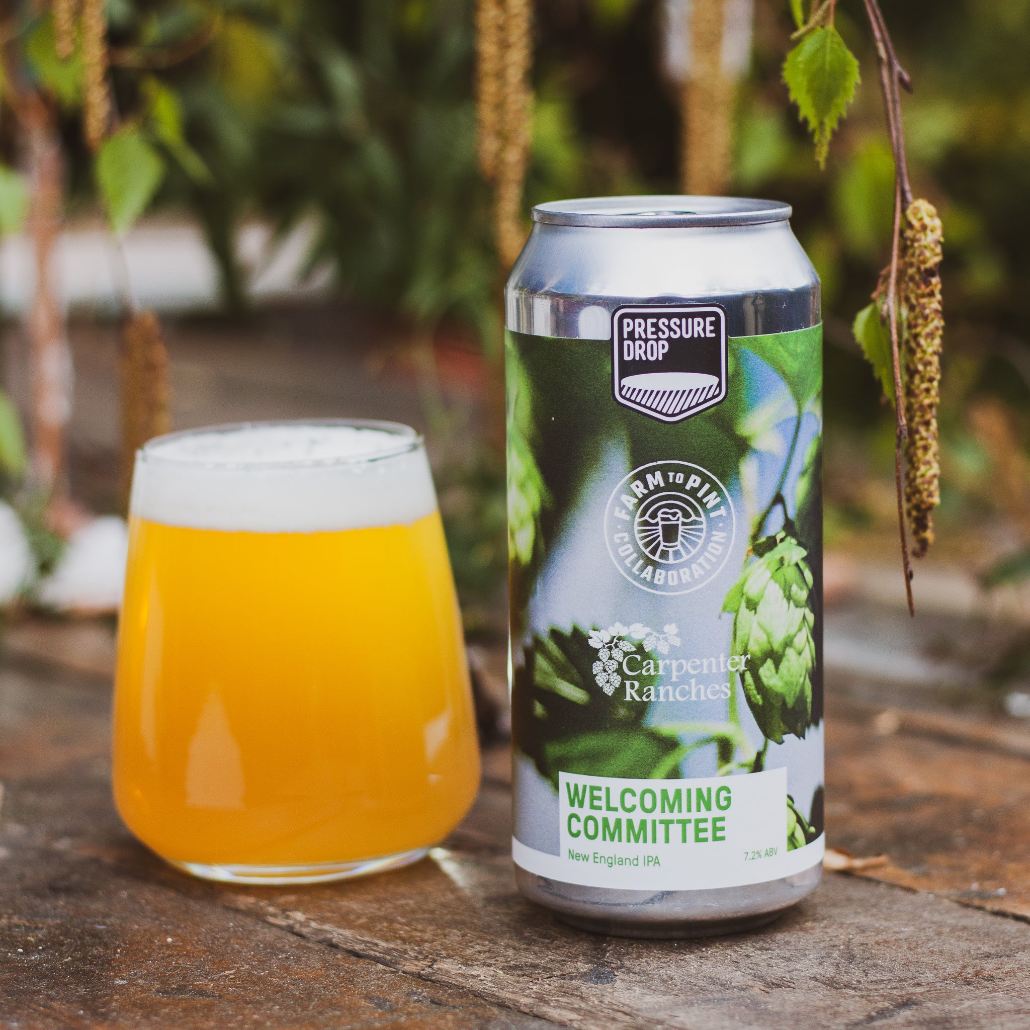 Welcoming Committee 7.2% NEIPA Collaboration with Yakima Chief Hops