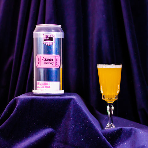 Beer can • NEIPA • Invisible Audience