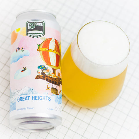 Great Heights- Unfiltered Pilsner - Lager