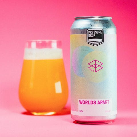 Worlds Apart- 8.5% New England DIPA Collaboration with Range
