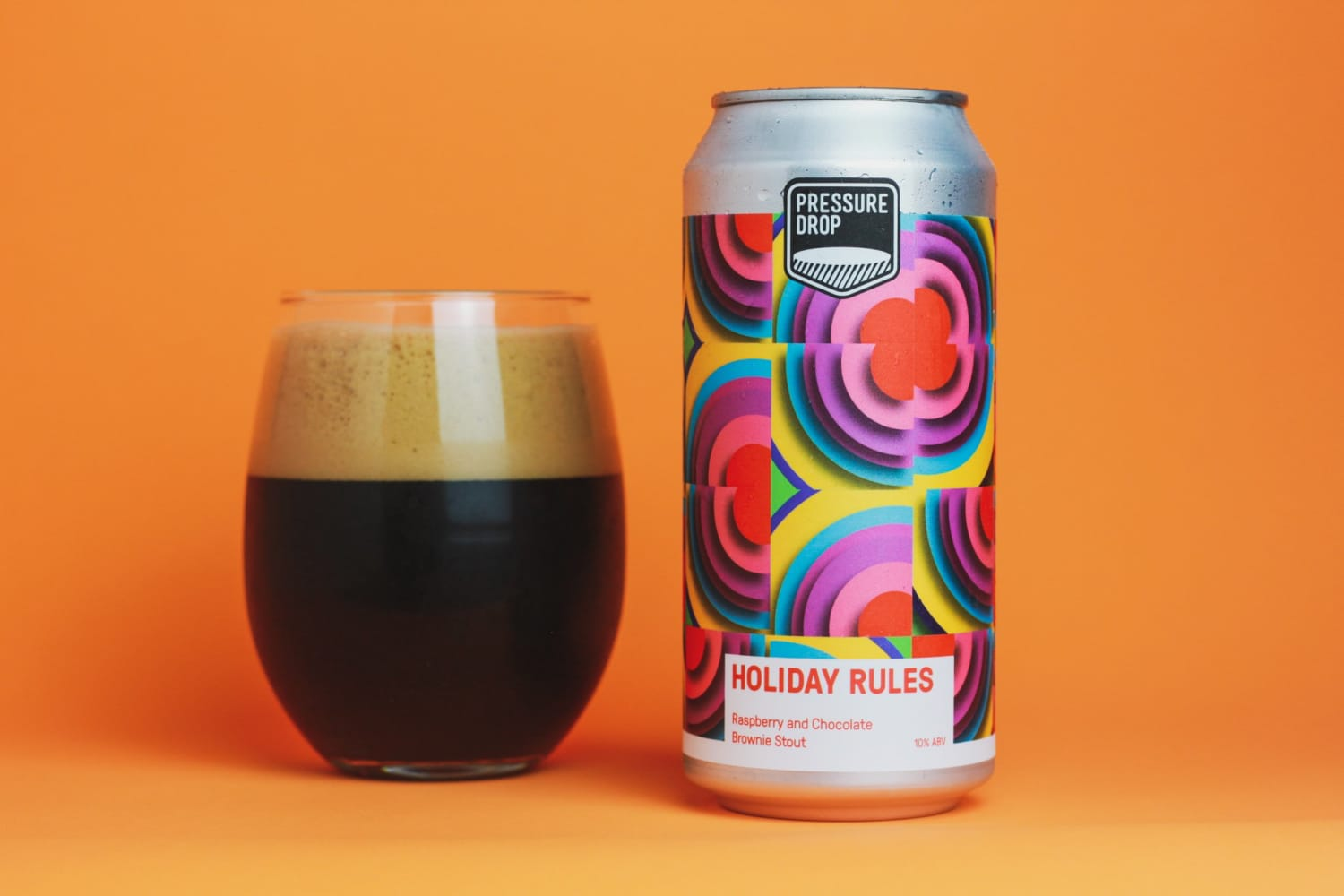 Holiday Rules 10% Raspberry & Chocolate Brownie Stout