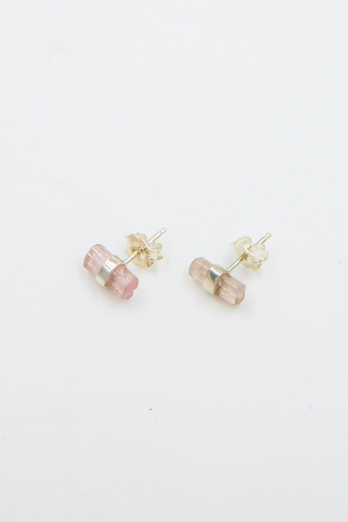 better late than never crystal bar studs