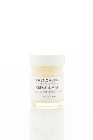 french girl organics rose creme lumiere moisturizer