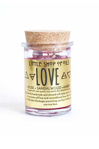 little shop of oils love candle