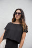 mara hoffman edith top in black