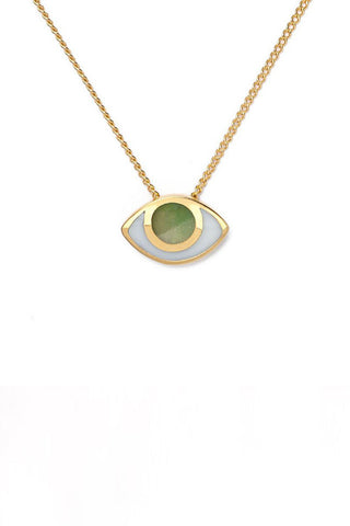 marta pia third eye gold necklace with jade