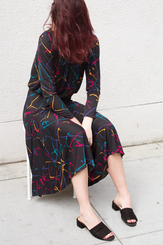 mercy vintage splatter dress