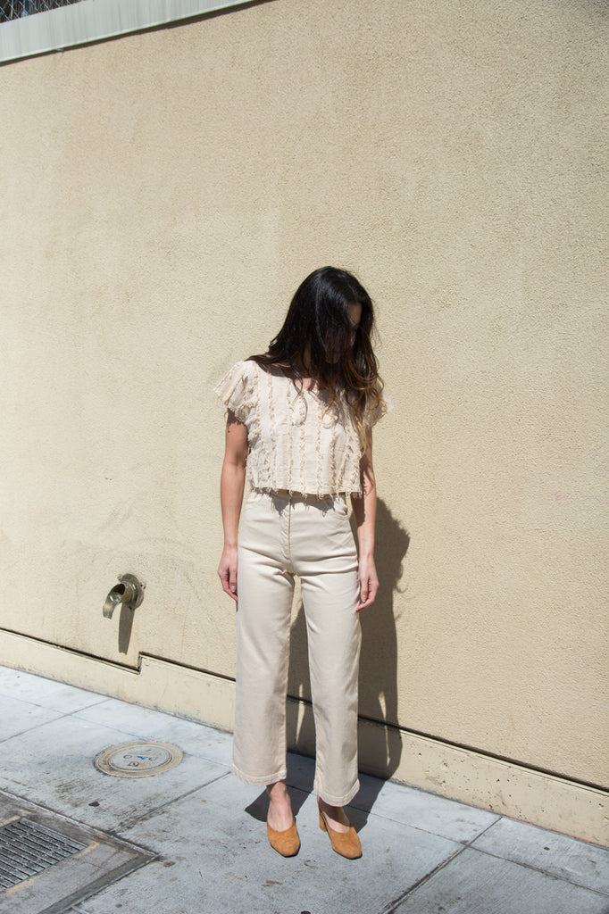 nico nico solar hi-waisted jean in natural