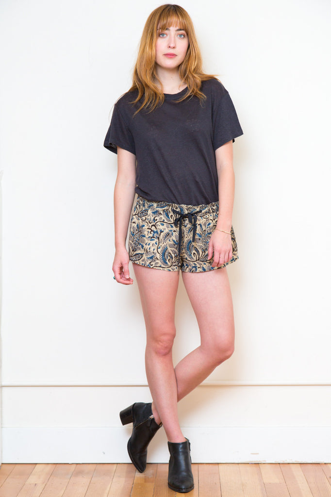 polder printed never shorts