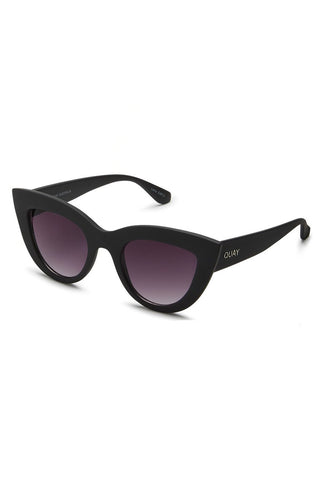 quay kitti sunglasses in black
