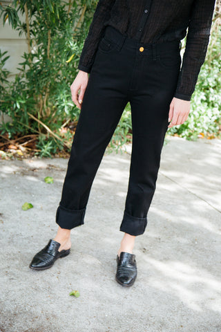rodebjer susan jeans in black