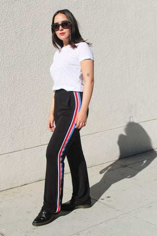 stateside statetrack pant in black