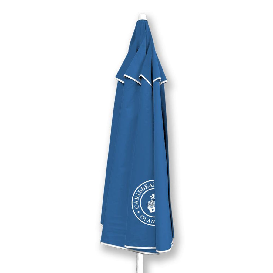 Wholesale Caribbean Joe Blue Vented Canopy UV Beach Umbrella