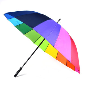 Wholesale Manual Open Rainbow Canopy Umbrella