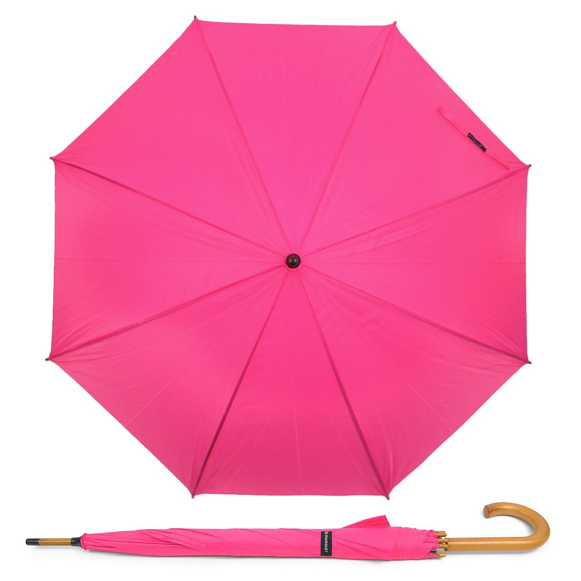 Wholesale Wooden Auto Open Hook Handle Umbrella