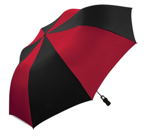Wholesale Weatherproof Auto Folding Two-Tone Golf Umbrella