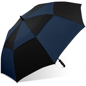 Wholesale Double Canopy Windproof Frame Golf Umbrella