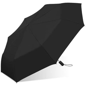 Wholesale Automatic Open Folding Classic Black Umbrella