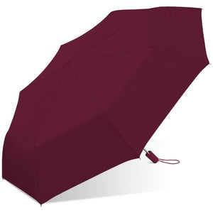 Wholesale Auto Open Solid Color Matching Handle Umbrella