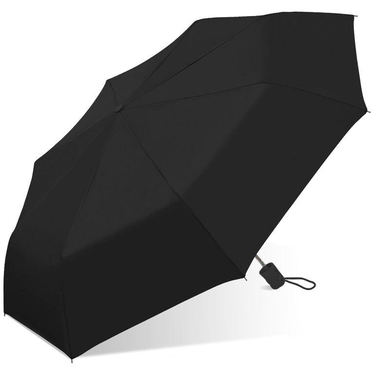 Wholesale Auto Folding Economy Promo Black Umbrella
