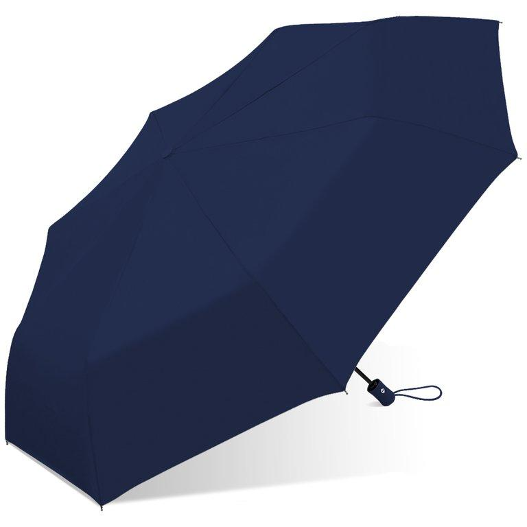 Wholesale Windproof Fiberglass Frame Solid Auto Open Umbrella