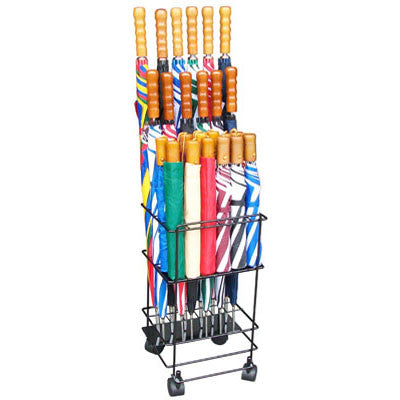 12/12 Piece Basic Metal Umbrella Display Rack