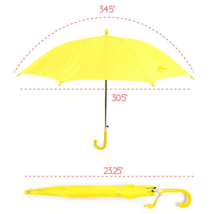 Wholesale Auto Open Kids Solid Pastel Color Umbrella