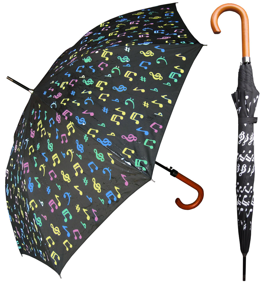 Wholesale Color Music Notes Umbrella