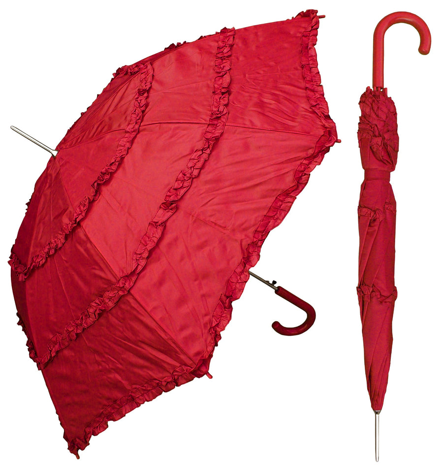 Wholesale Ladies Ruffle Parasol