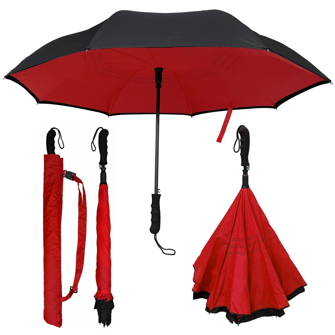 Wholesale Auto Open Inverted Umbrella