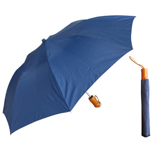 Wholesale Auto-Open Deluxe Umbrella - Solid Colors