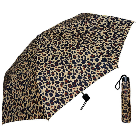 Wholesale Super Mini Umbrella - Leopard Print