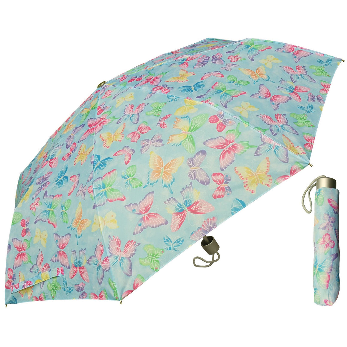 Wholesale Super Mini Butterfly Print Umbrella