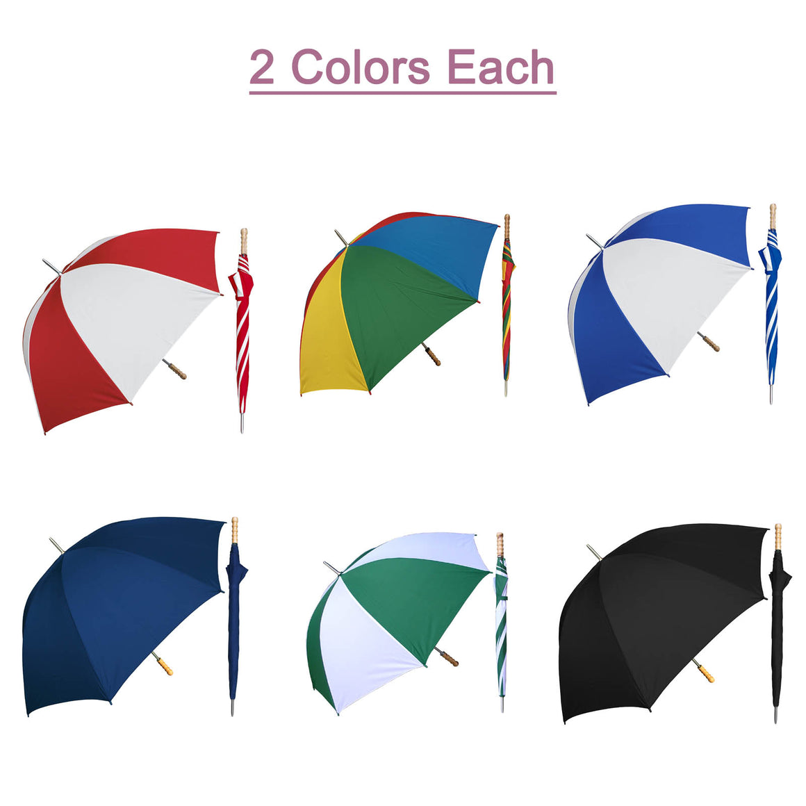 Wholesale Metal Shaft Umbrella