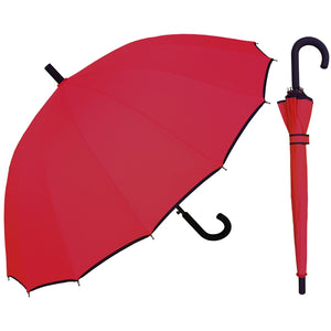 Wholesale Auto Open 16 Panel Hook Umbrella