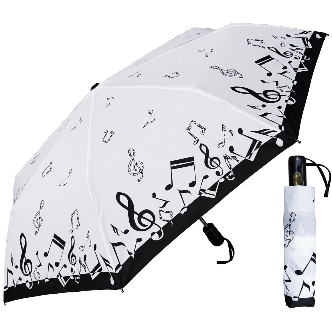 Wholesale Auto Mini Music Notes Umbrella