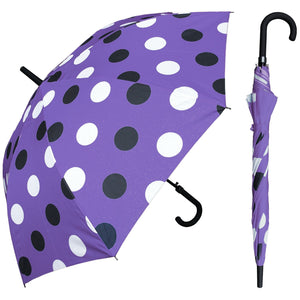 Wholesale Polka Dot Print Hook Umbrella
