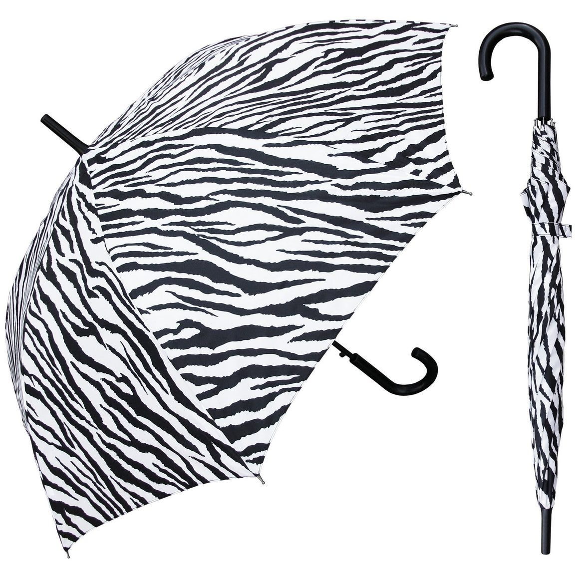 Wholesale Zebra Print Hook Umbrella