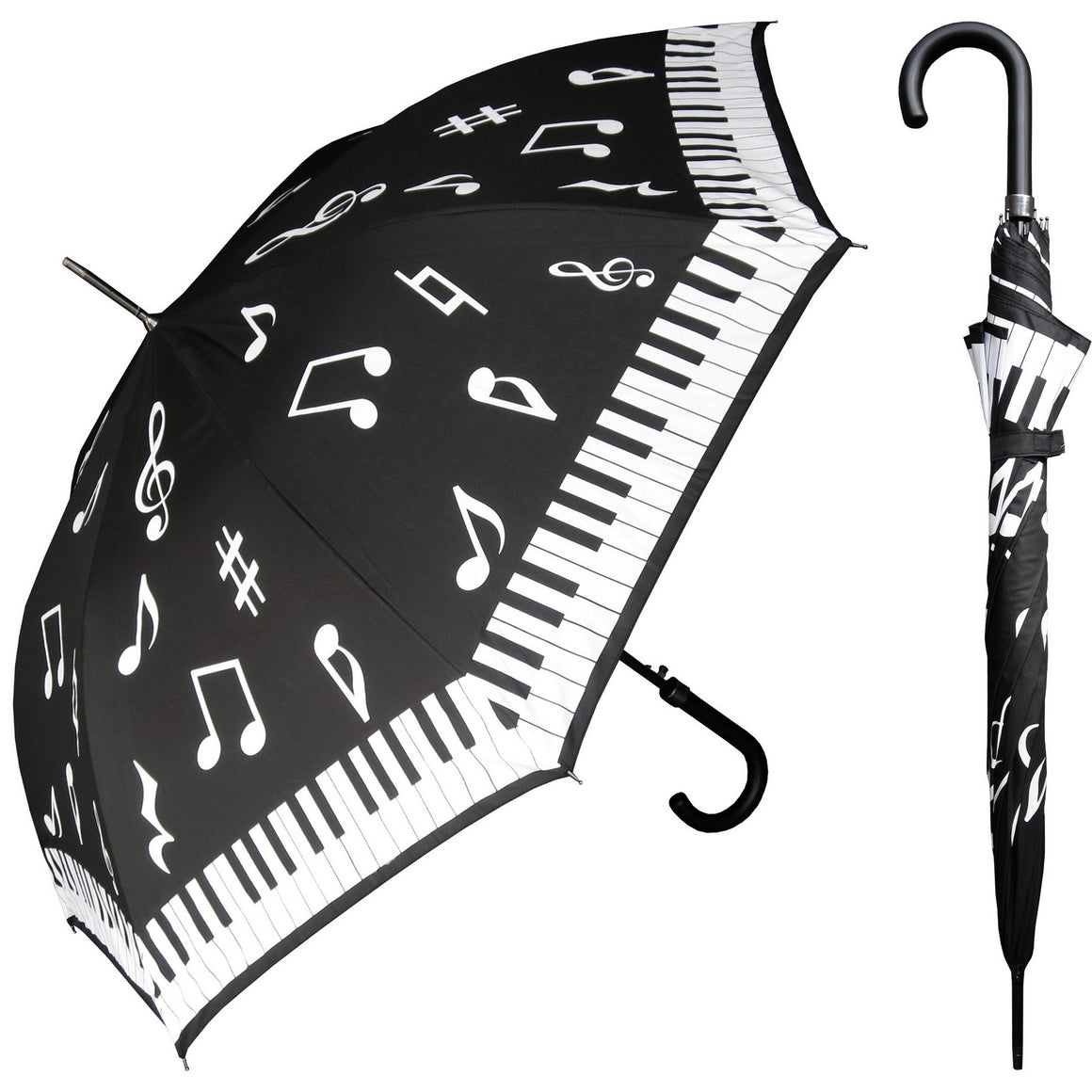 Wholesale Piano Print Hook Umbrella