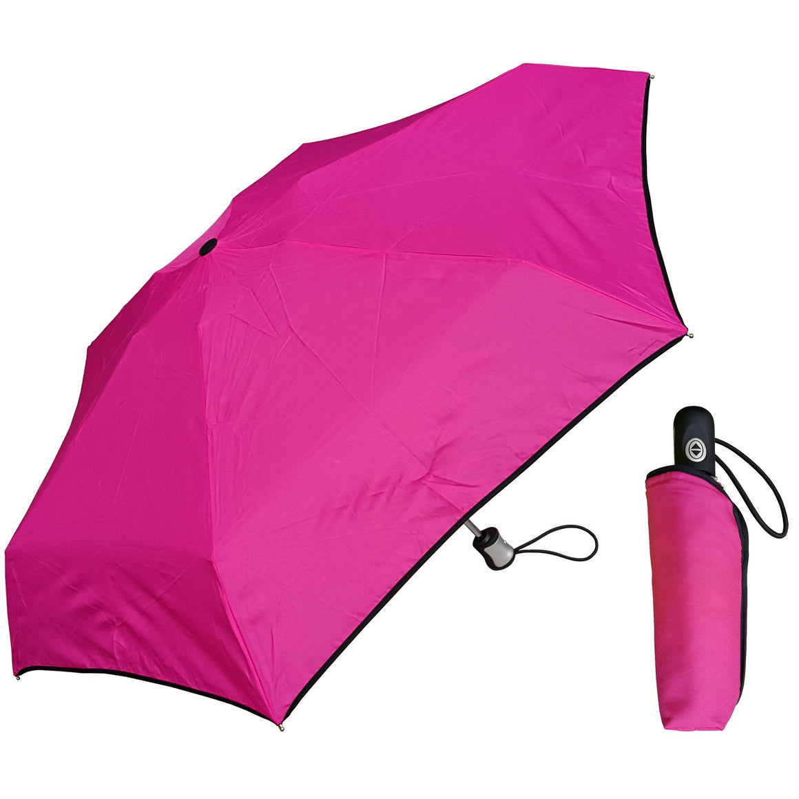 Wholesale Mini Auto Umbrella with Colorful Piping
