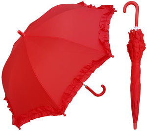 Wholesale Colorful Ruffle Children's Umbrella