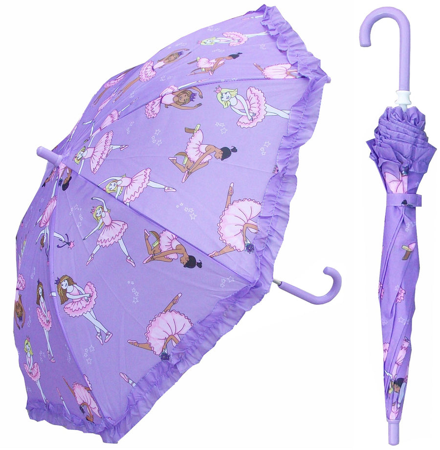 Wholesale Ballerina Print Children's Umbrella