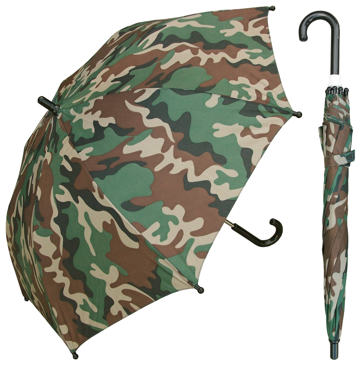 Wholesale Camo Print Kids Umbrella