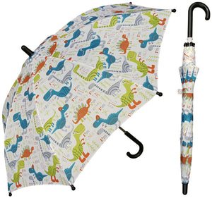 Wholesale Kids Dinosaur Print Umbrella