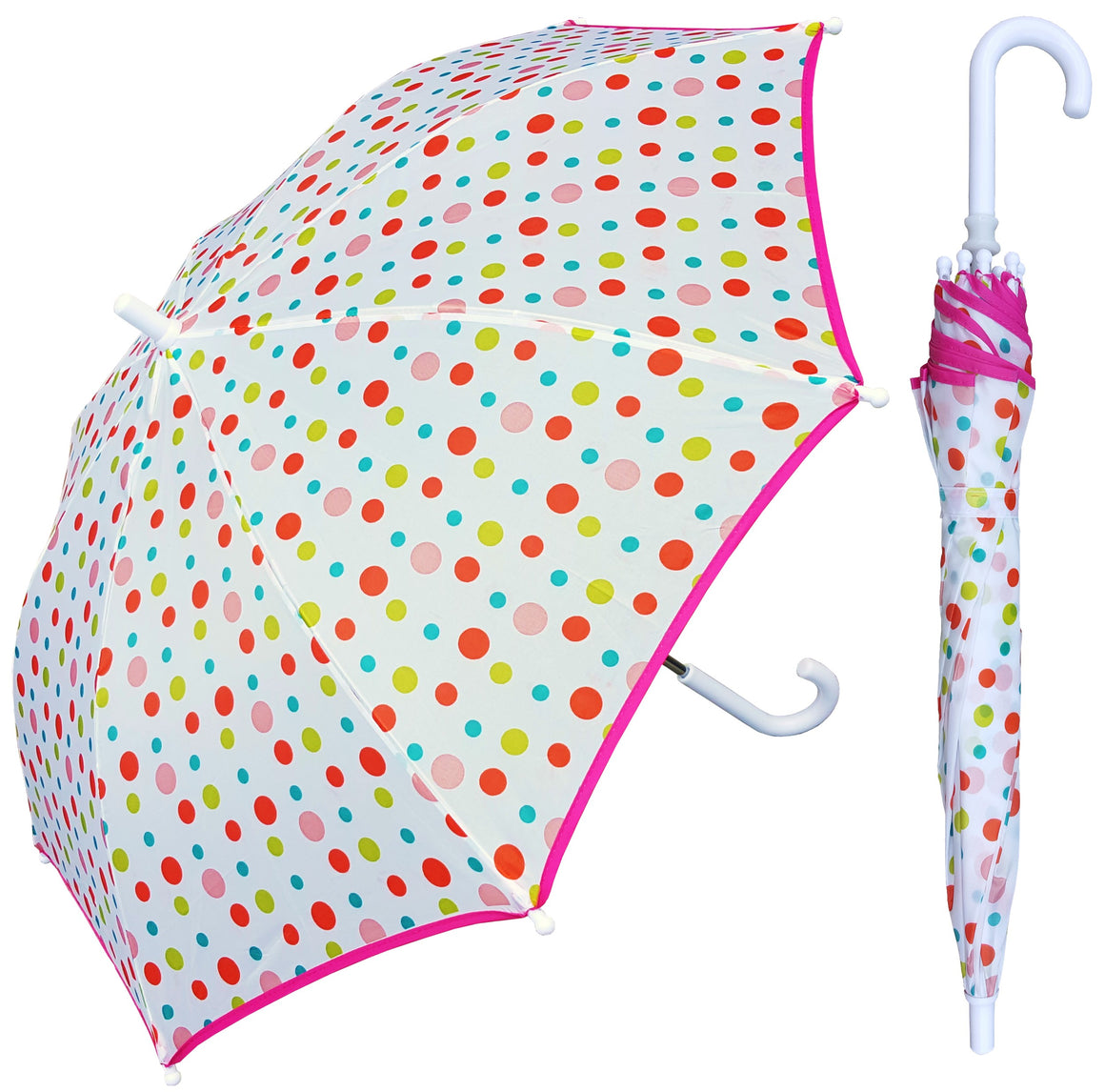 Wholesale Multidot Print Children's Umbrella