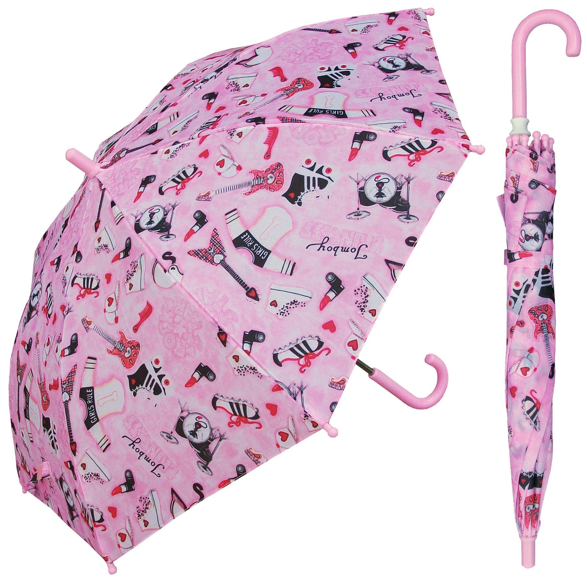 Wholesale Children's Cool Girl Umbrella