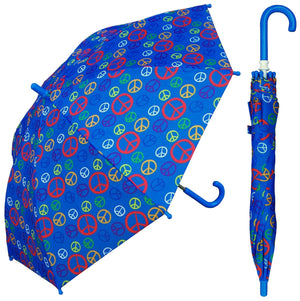 Wholesale Peace Sign Kids Umbrella